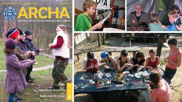 """Téma druhého čísla letošního ročníku Archy znělo """"Dětské spolky a občanská společnost""""."""