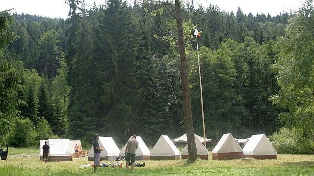 Tábor tomíků na Klučance 2012 (foto A-TOM)