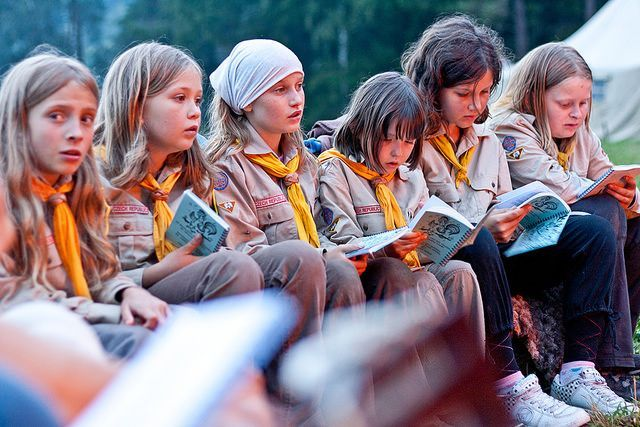 27 000 dětí stráví léto na skautských táborech! Skauti pořádají ... 54aac2e780