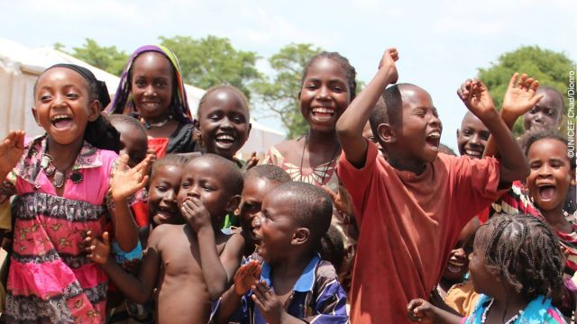 Dance 4 Peace (foto UNICEF Chad)