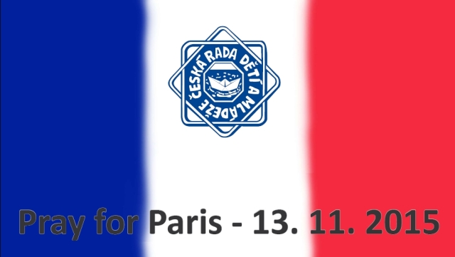 Pray for Paris (13. 11. 2015)