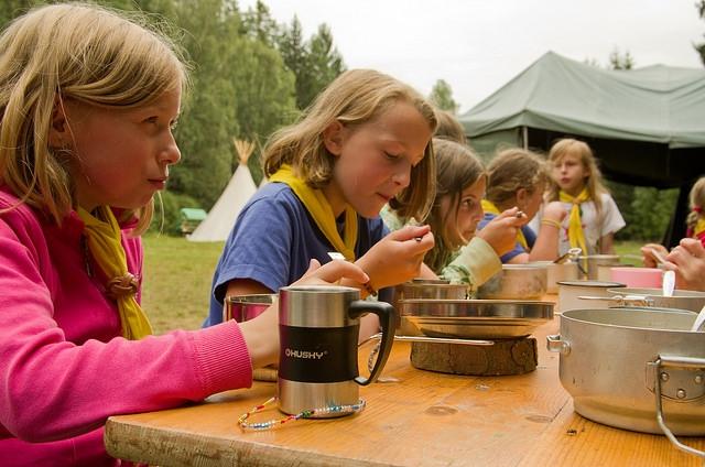 Skauti pořádají nejvíce táborů v Česku - v roce 2016 téměř pro 30 tisíc  kluků a 5877714446