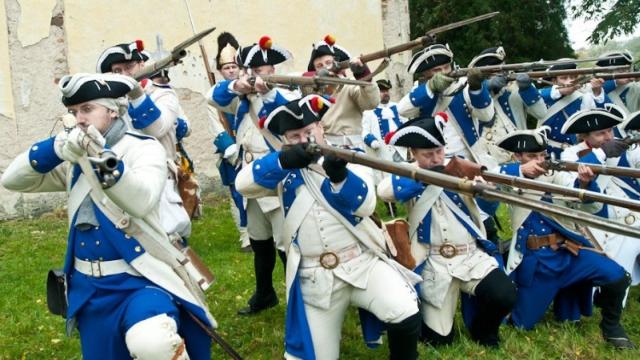 Rekonstrukce bitvy ze Sedmileté války (1756-1762)
