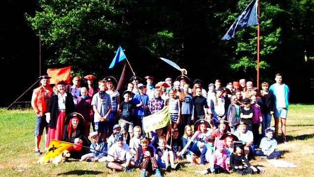 Tomíci z TOM Tuři z Olomouce tábořili na Ukrajině a přibrali k tomu místní děti českého původu
