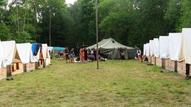 Prázdniny jsou pro děti nerozlučně spojené s tábory (ilustrační foto M. K. Rocmanová)