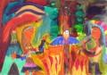 Alžběta Matuštíková, Vsetín, kategorie 2a - malba (1. - 3. tř. ZŠ) Přírodní národy - život domorodců, horalů, lovců, sběračů… 1. místo