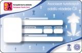 Členská karta EYCA (Asociace TOM)