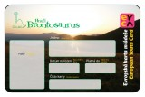 Členská karta EYCA (Hnutí Brontosaururs)