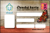 Členská karta EYCA (Junák)