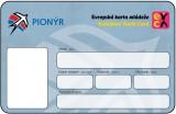 Členská karta EYCA (Pionýr)