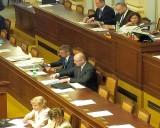 Jednání Poslanecké sněmovny se zúčastnili také premiér Bohuslav Sobotka a ministr financí Andrej Babiš (foto Aleš Sedláček)