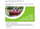OZP na svých facebookových stránkách nabízí příspěvek pro děti na tábor prostřednictvím své Vitakarty