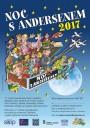 17. ročník Noci s Andersenem 2017 (plakát)