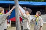O trochu snazší situaci mají tábory, které pořádají skauti adalší oddíly, kam děti chodí celý rok (foto archiv Junáka – českého skauta)