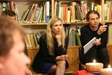 S bývalou ministryní školství Kateřinou Valachovou během její návštěvy v klubovně Ligy lesní moudrosti (foto Jiří Majer)