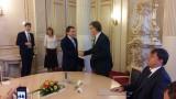 U bývalého ministra školství Stanislava Štecha před podpisem smlouvy o dlouhodobé spolupráci MŠMT s ČRDM a dalšími 17 neziskovkami (foto Ondřej Šejtka)