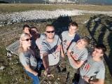 Parta dobrovolníků z českých neziskovek zapojených do projektu 72 hodin v bosenském Sarajevu (foto RADAMBUK)