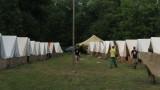 Letní podsadový tábor (ilustrační foto Michala K. Rocmanová)