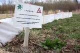 Upozornění na migrující obojživelníky se týká i chodců (foto ČSOP)
