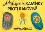 Během měsíce května v rámci kampaně KVĚTINOVÝ KVĚTEN můžete malovat putovní kamínky se žlutými kytičkami
