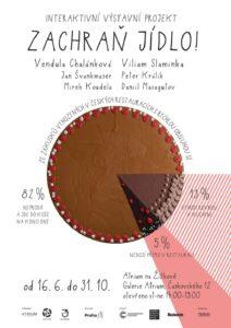 16. června 2021 se v Galerii Atrium v Praze otevírá interaktivní výstavní projekt Zachraň jídlo!