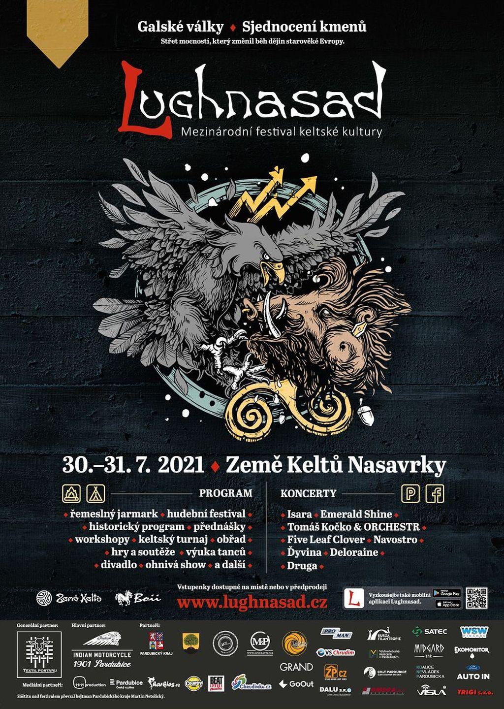 Festival keltské kultury Lughnasad 2021 (plakát)