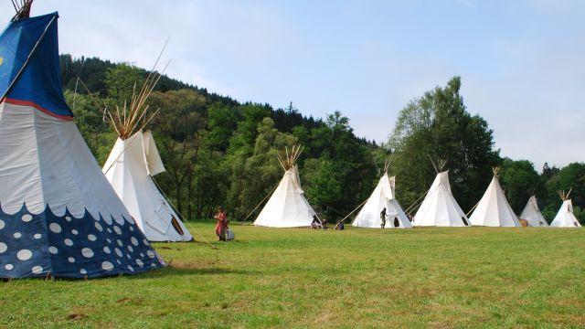 Tábor Ligy lesní moudrosti (foto Tereza Peková)