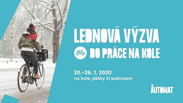 Do práce na kole 2020 - lednová výzva (Auto*mat)